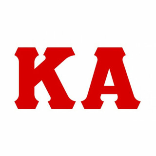 Kappa Alpha Big Greek Letter Window Sticker Decal