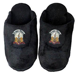 Kappa Alpha Black Solid Slipper