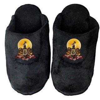 DISCOUNT-Kappa Alpha Black Solid Slipper
