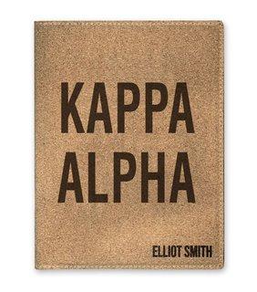 Kappa Alpha Cork Portfolio with Notepad