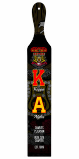 Kappa Alpha Custom Full Color Paddle