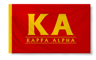 Kappa Alpha Custom Line Flag