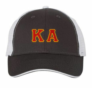 Kappa Alpha Double Greek Trucker Cap