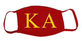 Kappa Alpha Face Masks