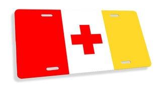 Kappa Alpha Flag License Cover