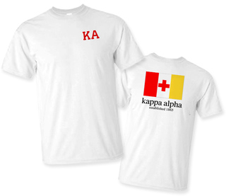 Kappa Alpha Flag T-Shirt