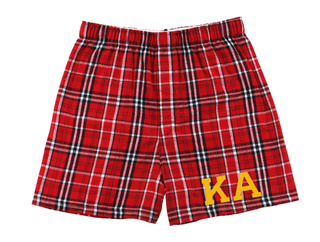 Kappa Alpha Flannel Boxer Shorts