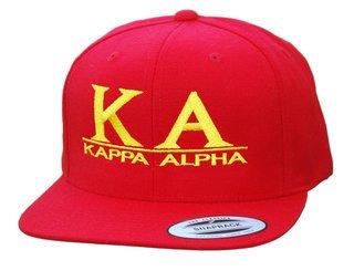 Kappa Alpha Flatbill Snapback Hats Original