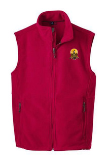 Kappa Alpha Fleece Crest - Shield Vest