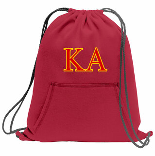 Kappa Alpha Fleece Sweatshirt Cinch Pack