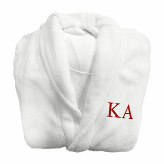 Kappa Alpha Fraternity Lettered Bathrobe