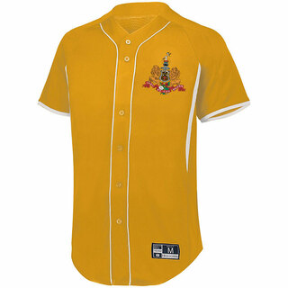 Kappa Alpha Game 7 Full-Button Baseball Jersey