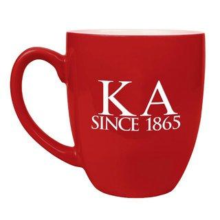 Kappa Alpha Greek Bistro Mug