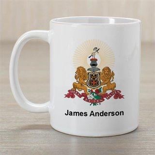 Kappa Alpha Greek Crest Coffee Mug - Personalized!