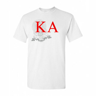 Kappa Alpha Greek Crest - Shield T-Shirt