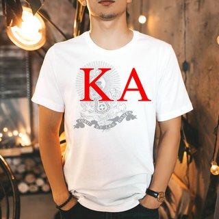 Kappa Alpha Greek Crest - Shield T-Shirt