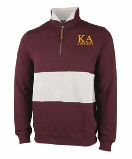 Kappa Alpha Greek Letter Quad Pullover