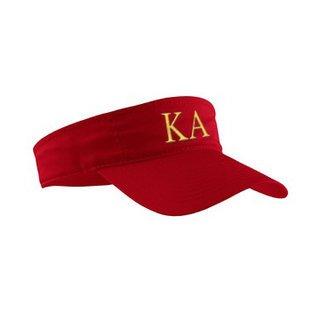 Kappa Alpha Greek Letter Visor