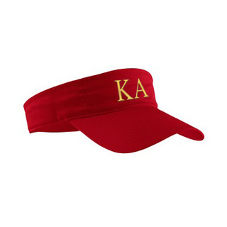 Kappa Alpha Greek Letter Visor