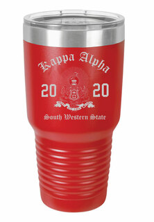 Kappa Alpha Insulated Tumbler