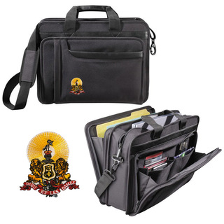 DISCOUNT-Kappa Alpha Crest - Shield Briefcase Attache