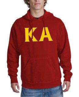 Kappa Alpha letter Hoodie