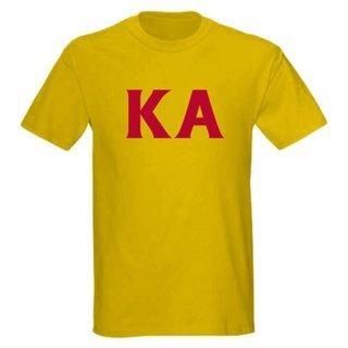 Kappa Alpha letter tee