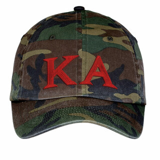 Kappa Alpha Lettered Camouflage Hat