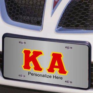 Kappa Alpha Lettered License Cover