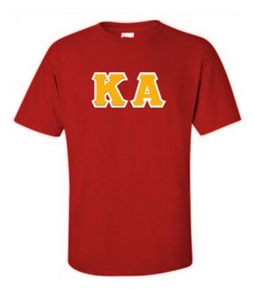 Kappa Alpha Lettered T-Shirt