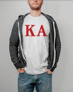Kappa Alpha Lettered Tee - $14.95!