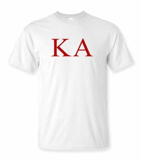 Kappa Alpha Lettered Tee - $9.95! - MADE FAST!
