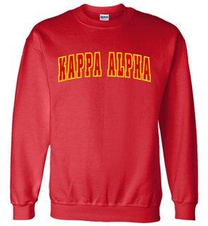 Kappa Alpha Letterman Twill Crew