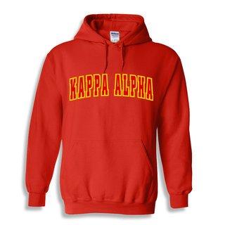 Kappa Alpha Letterman Twill Hoodie