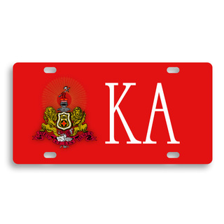 Kappa Alpha License Cover