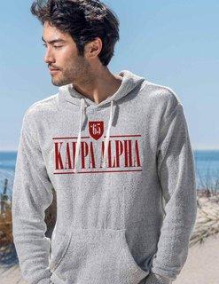 Kappa Alpha Lucas Loop Fleece Hood