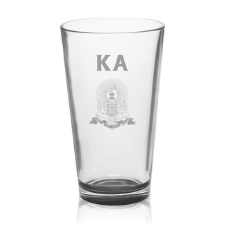 Kappa Alpha Mixing Glass