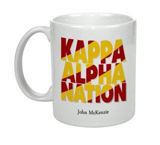 Kappa Alpha Nations Coffee Mug