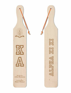 Kappa Alpha Old School Wood Greek Paddle