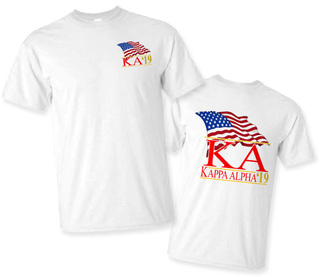 Kappa Alpha Patriot Limited Edition Tee- $15!