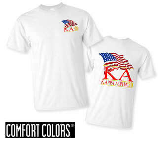 Kappa Alpha Patriot  Limited Edition Tee - Comfort Colors