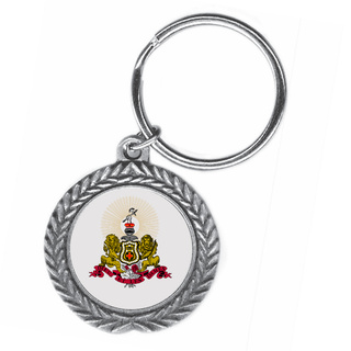 Kappa Alpha Pewter Key Ring
