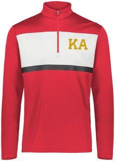 Kappa Alpha Prism Bold 1/4 Zip Pullover