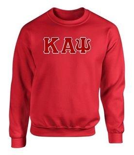 Kappa Alpha Psi 2 Day Ship Twill Crewneck Sweatshirt
