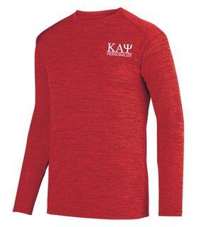 Kappa Alpha Psi- $20 World Famous Dry Fit Tonal Long Sleeve Tee
