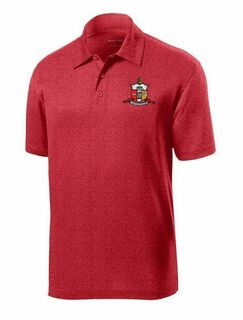 DISCOUNT-Kappa Alpha Psi- World Famous Greek Crest - Shield Contender Polo