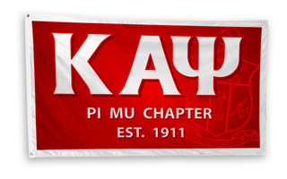 Kappa Alpha Psi 3 x 5 Flag