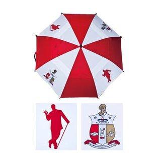 "Kappa Alpha Psi 30"" Wind Resistant Auto Open Umbrella"