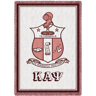 Kappa Alpha Psi Afghan Blanket Throw