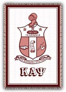 Kappa Alpha Psi Afghans Blanket Throw